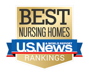 Best Nursing Homes U.S. News Rankings gold logo